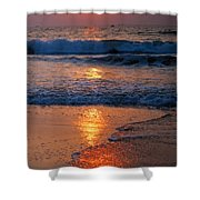 Goan Sunset. India Shower Curtain