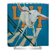 Goat 44 Shower Curtain