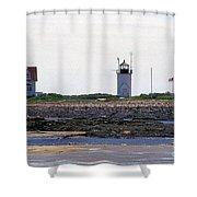 Goat Island Maine Shower Curtain
