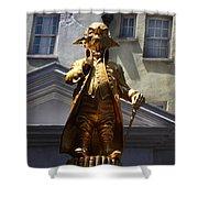 Goblin Gold Shower Curtain