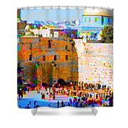 God Is Everywhere Shower Curtain