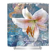 God Is Still In Control Shower Curtain by Beverly Guilliams