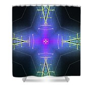 God Particle Shower Curtain