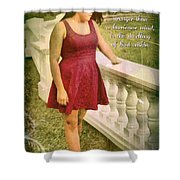 God Within Shower Curtain