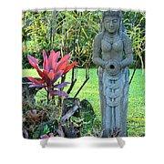 Goddess Bhudevi Mother Earth Shower Curtain by Karon Melillo DeVega
