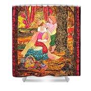 Goddess Crowning Shower Curtain