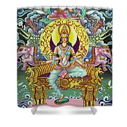 Goddess Of Asia Shower Curtain