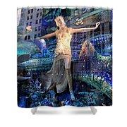 Goddess Of The Sea Shower Curtain