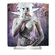Goddess Of The Water Oh My Goddess Edition Shower Curtain