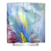Goddess Of Thought Shower Curtain