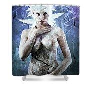 Goddess Of Water Shower Curtain