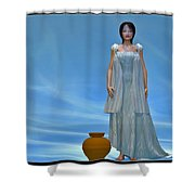 Goddess... Shower Curtain