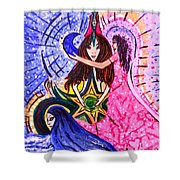 Goddess Trinity Shower Curtain