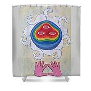 Goddess Wizard Shower Curtain