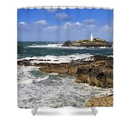 Godrevy Lighthouse - 5 Shower Curtain
