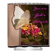 God's Beloved Shower Curtain
