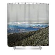 God's Country Shower Curtain by Joann Vitali