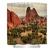 Gods Garden In Colorado Shower Curtain