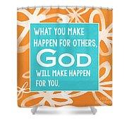 God's Gift Shower Curtain