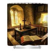 God's Holy Light Shower Curtain