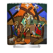 Gods Only Son Shower Curtain