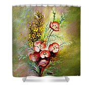God's Smile Shower Curtain