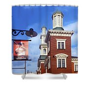 Goin To The Yard Shower Curtain