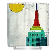 Going Away Shower Curtain