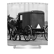 Going Buggy Shower Curtain
