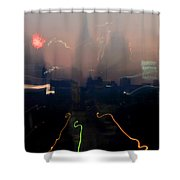 Going Downtown Shower Curtain