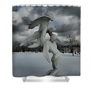 Going Home 4120 Shower Curtain