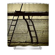 Going Nowhere Quick Shower Curtain
