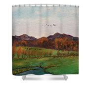 Going To The Cabin Shower Curtain