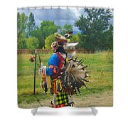 Going To The Pow Wow Shower Curtain