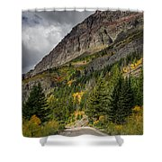 Going To The Sun Road Shower Curtain