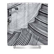 Going Up Shower Curtain