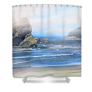Gold Beach Oregon Shower Curtain