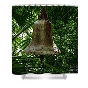 Gold Bell Shower Curtain