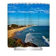 Gold Coast North Shower Curtain