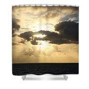 Gold Coast Sunrise Shower Curtain