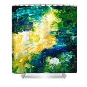 Gold Fish II Shower Curtain