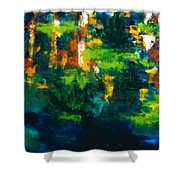 Gold Fish IIi Shower Curtain