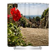 Gold Hill Shaftesbury Shower Curtain