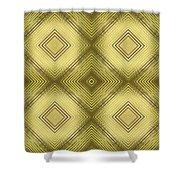 Gold Metallic 14 Shower Curtain