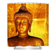 Gold On Gold Shower Curtain