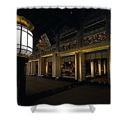 Golden Altar Of Kyoto Shower Curtain