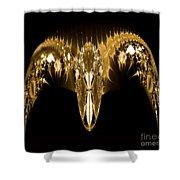 Golden Arches Shower Curtain