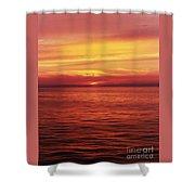 Golden Bermuda Shower Curtain