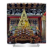 Golden Buddha Shower Curtain