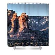 Golden Buttes Shower Curtain